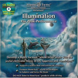 CD audio Illumination for peak performance*