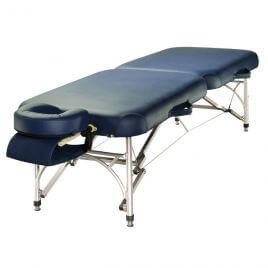 Table de massage pliante alu - structure aluminium Alula