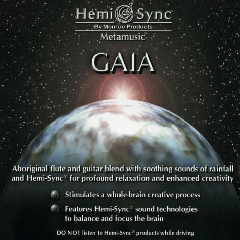 CD audio Gaia Hemi-Sync