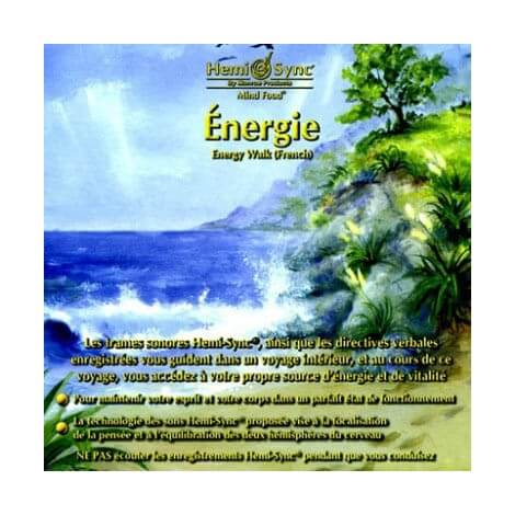 CD audio Energie Hemi-sync