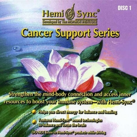 Coffret Cancer Support Series 4 CDs
