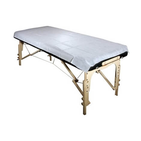 Drap de protection jetable pour table de massage