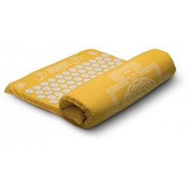 Tapis acupression Shakti LIGHT jaune