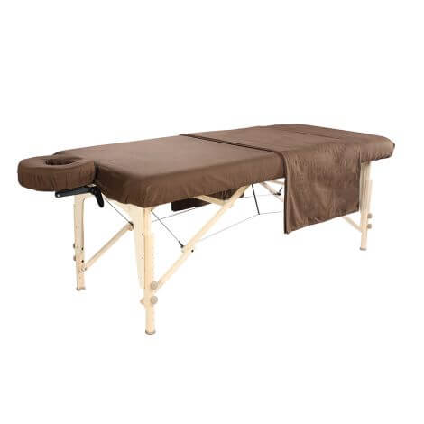 Drap flanelle couleur table de massage
