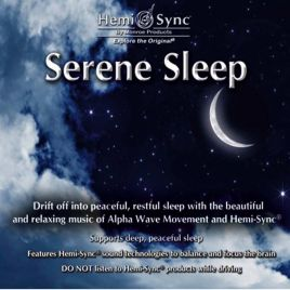 CD audio Serene Sleep
