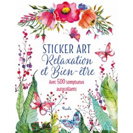 Livre Sticker art