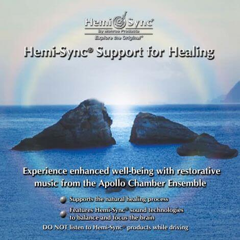 CD audio Support for Healing