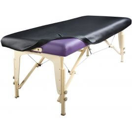 Housse Perfect Fit vinyle coin carré pour table de massage